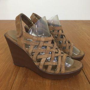 Aerosoles Wedge Platform Sandals